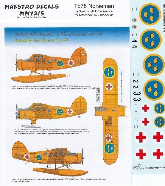Tp78  Norseman in Swedish AF
