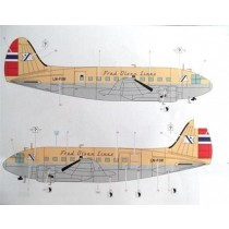 C-46 Commando decals Fred Olsen LN-FOR