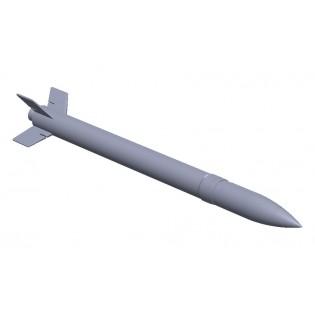 1 x 13,5 cm raket m/56. 3D print