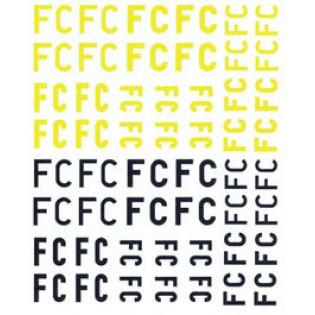 Försökscentralen FC bokstäver