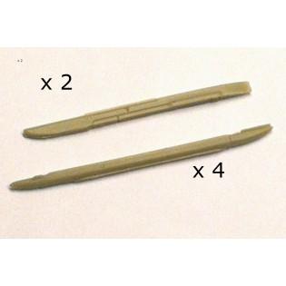 JA37 Viggen vapenbalkar x 6