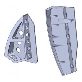 SAAB 32 Lansen luftbromsar 3D print