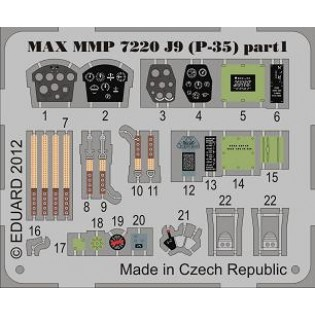 Seversky P-35 SwAF J9 detalj set, se info