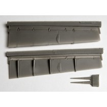 Lowered flaps for SAAB 37 Viggen (TAR/SH)