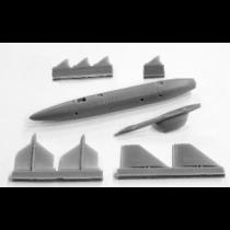 2 × Rb04E missiles w. launchers SAAB AJ37 & SH37 Viggen