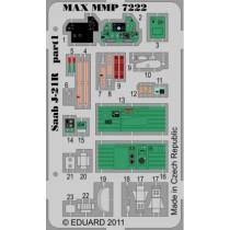 SAAB J21R detail set