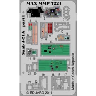 SAAB J21A detail set