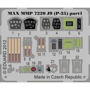 Seversky P-35 SwAF J9 detail set INFO