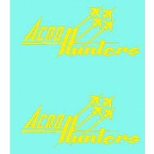 Acro Hunters nose emblems 1/48