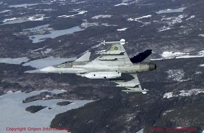SPK 39 recce pod for JAS 39C/D Gripen - Resin