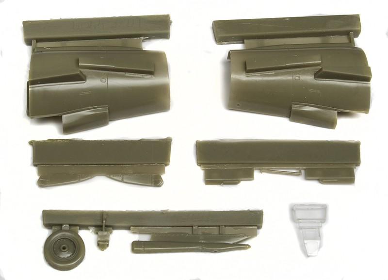 Danish SAAB 35 Draken parts