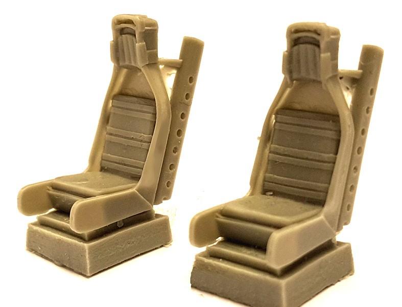 SAAB J32 Lansen resin seats for Hobbyboss