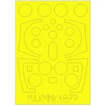 SAAB 37 Viggen canopy paint mask (TAR)