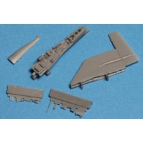 Fin fold set for SAAB 37 Viggen