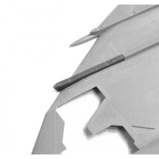 2 x Corrected wing pylon for SAAB 37 Viggen (TAR/SH) V7H & V7V
