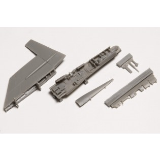 Fin fold set for SAAB 37 Viggen (Airfix/Esci)
