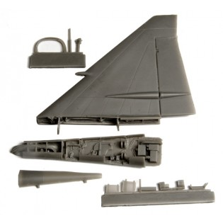 Fin fold set for SAAB JA37 Viggen (TAR)