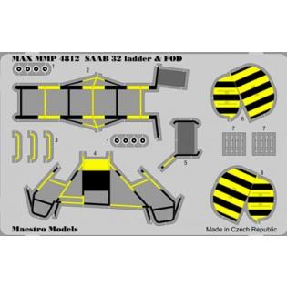 SAAB 32 Lansen ladder and FOD set