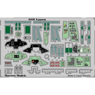 S32C Lansen cockpit set colour SE INFO