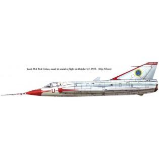 SAAB J35 Draken prototype conversion  (HAS)